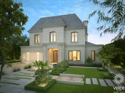 French inspired luxury home