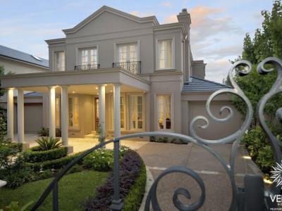 provincial custom home